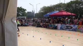 Freestyle Slalom Masters / Beijing, China/ classic women Zhao Yi Ran 3 place