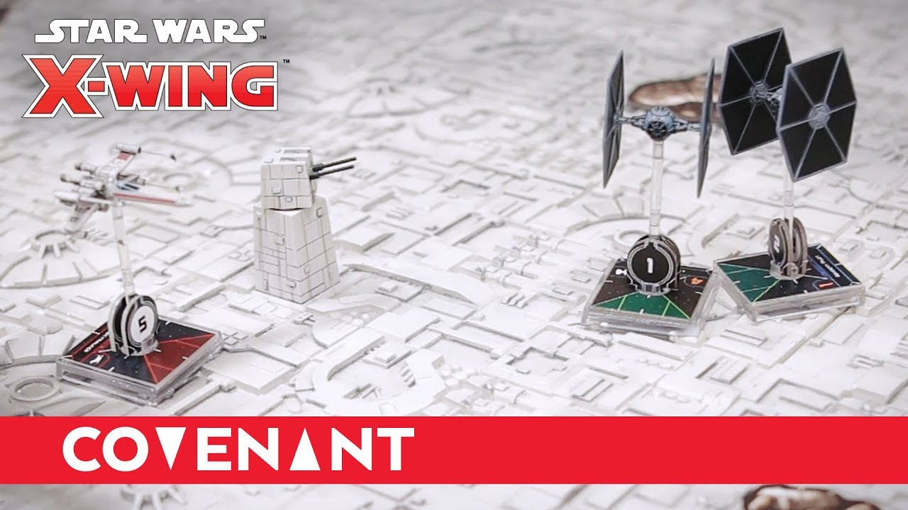 x wing second edition rule book
