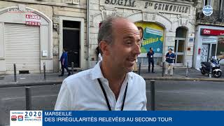Municipales à Marseille : Sébastien Barles (EELV - PM) dénonce des irrégularités lors du second tour