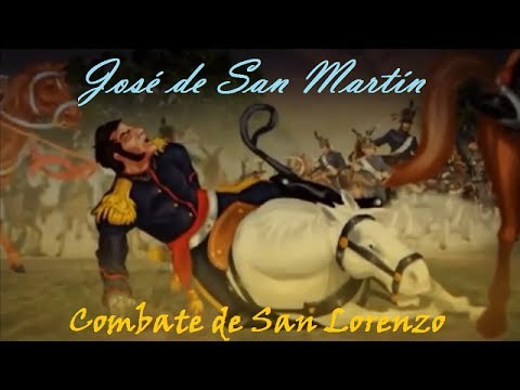 Resultado de imagen para san martin san lorenzo batalla