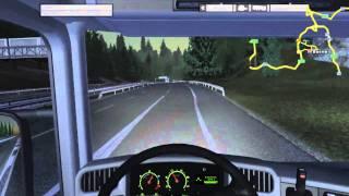 Euro Truck Simulator PC Gameplay - Intel Core i3