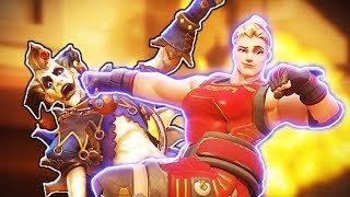 This GOD-TIER Zarya goes 1v6 - Overwatch Funny Moments & Best Plays #119