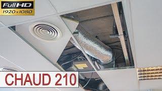 Chaud210-Le remplacement d'un moteur dans un ventilo convecteur de type gainable-Dépannage