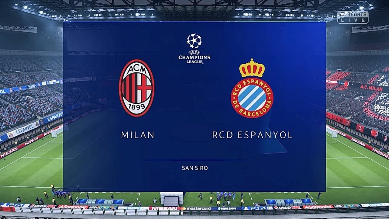 FIFA 19 Champions League: AC Milan vs RCD Espanyol (Cuartos de final ...
