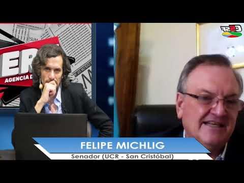 Felipe Michlig: Pretendemos un gran frente opositor