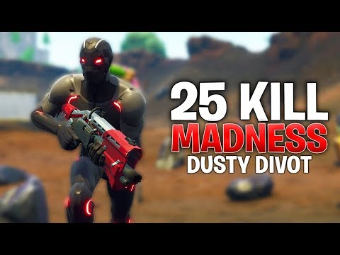 INSANE GAME AT NEW DUSTY DIVOT LOCATION! Fortnite Battle Royale