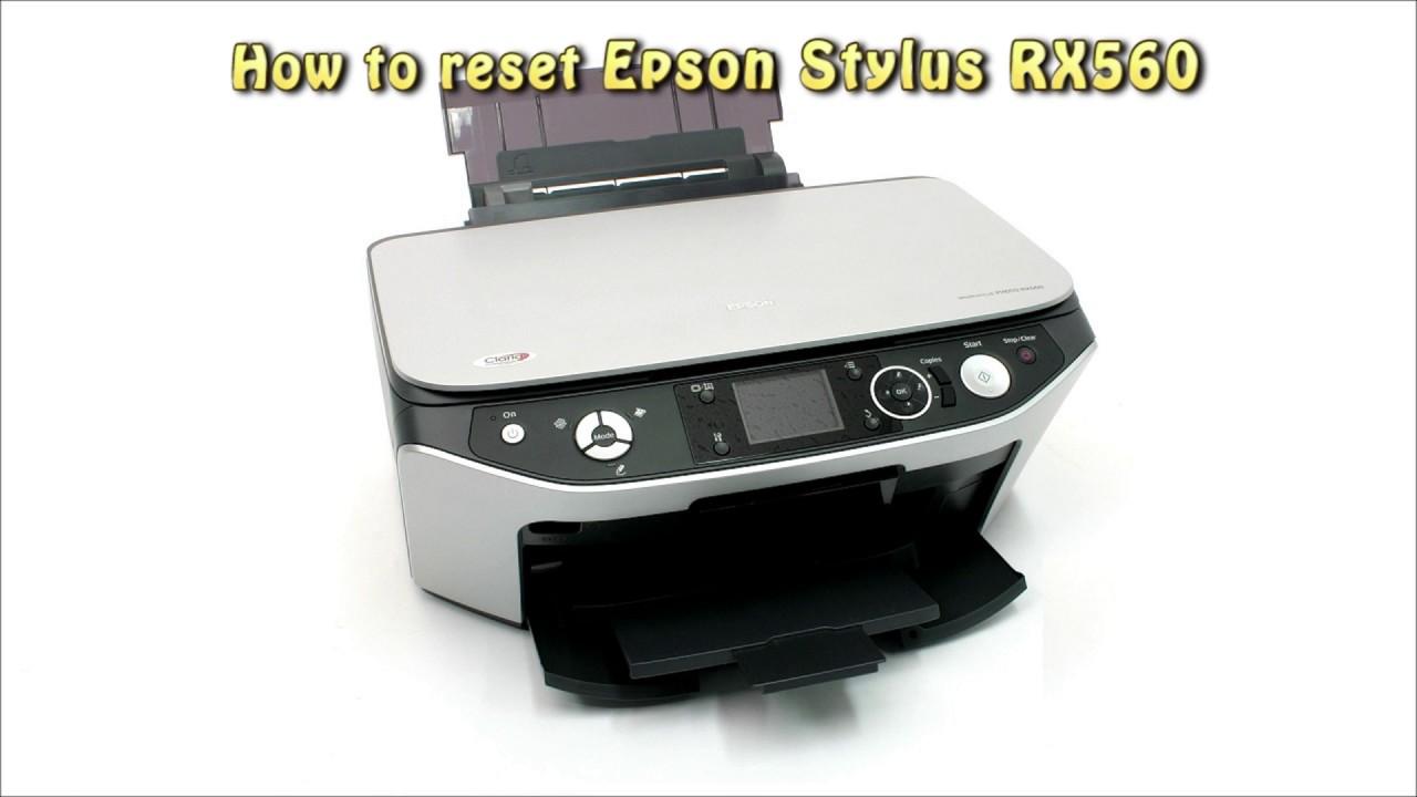 EPSON RX560 DRIVER WINDOWS 7 (2019)