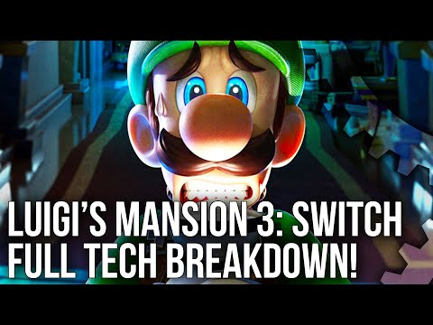 Luigi's Mansion 3: Switch Tech Breakdown - A Playable CG Movie on Switch?