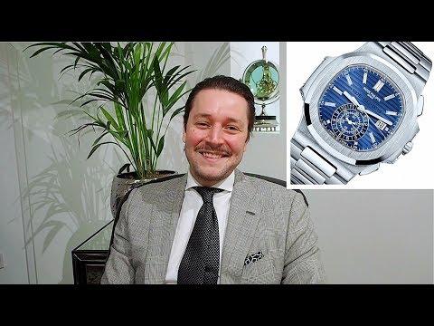 On the Wrist: Patek Philippe Nautilus Chronograph 5976G