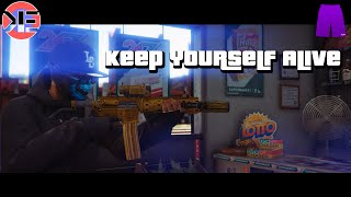 Keep Yourself Alive - A GTA V Machinima