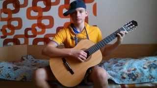 Видео урок по гитаре № 1 (изгиб гитары жёлтой)