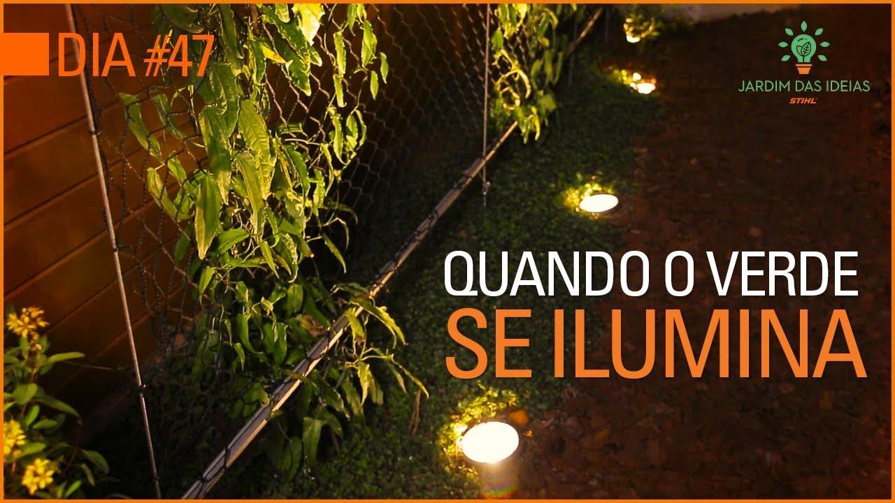 Como Colocar Iluminação Num Jardim Sem Parecer árvore De Natal Youtube