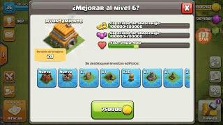 MEJORANDO EL AYUNTAMIENTO AL 6! Clash Of Clans Ep3