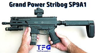 Grand Power Stribog SP9A1 Review & Shooting - TheFireArmGuy