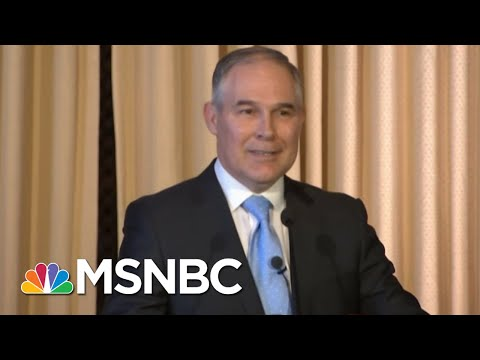 Who Is Andrew Wheeler, The New Acting Head Of The EPA? | Hardball | MSNBC