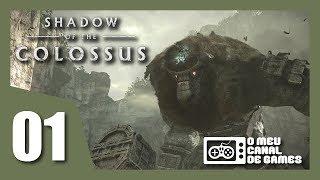 Shadow of the Colossus Remake: #01 VALUS - Gameplay do Início em Português PT-BR