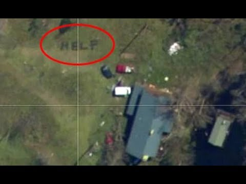 Andi and Kenny  - Florida Family Saved When 'HELP' Message is Seen Via Satellite