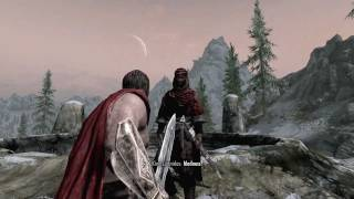 This is SPARTA! (in Skyrim)
