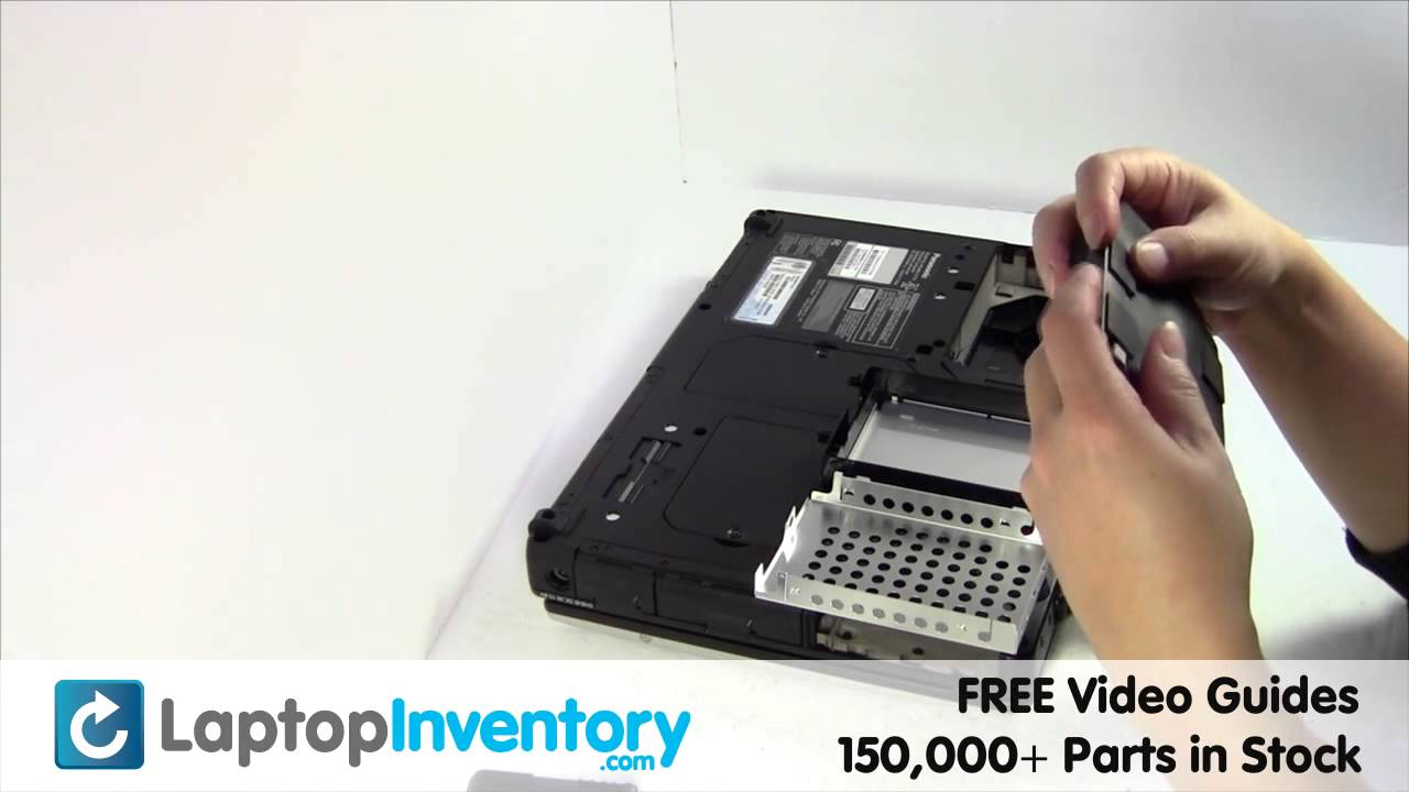 Panasonic toughbook cf-52 cf-53 hard drive replacement sata.