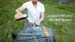 The Best Camera Bag For Landscape Photography?   Lowepro Whistler BP 450 AW Review