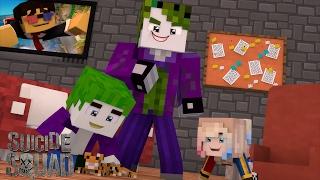 Minecraft: WHO'S YOUR DADDY? - CORINGA MATOU A ARLEQUINA