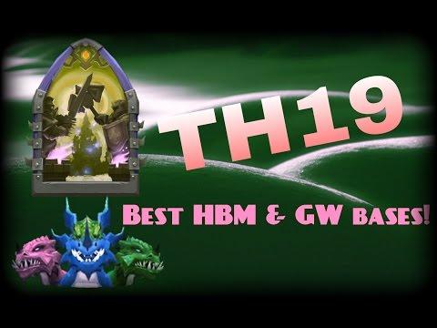 Castle Clash; Best TH19 Bases For HBM & GW!