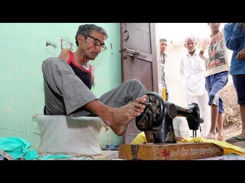 Armless Tailor Madan Lal Fatehabad