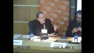 Javier Solana durante la presentación del Scorecard 2012 de ECFR. Parte 2 de 3