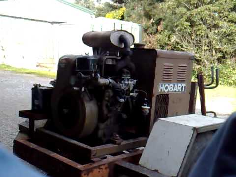 My Hobart G-213 Welder Generator under load