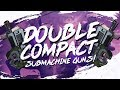 THIS GUN IS NUTS! DOUBLE COMPACT SMG LOADOUT (Fortnite BR Full Match)