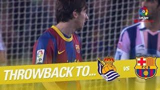 Download Video Resumen de Real Sociedad vs FC Barcelona (2-1) 2010/2011 MP3 3GP MP4