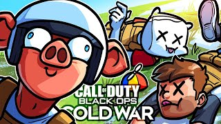 Black Ops Cold War but Wildcat just keeps KILLING US...
