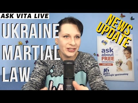 Martial Law In Ukraine LIVE Q&A