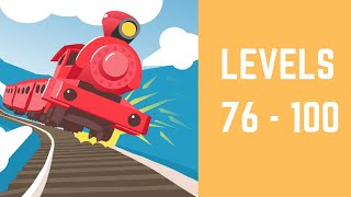 Off the Rails 3D Game Walkthrough Level 76-100