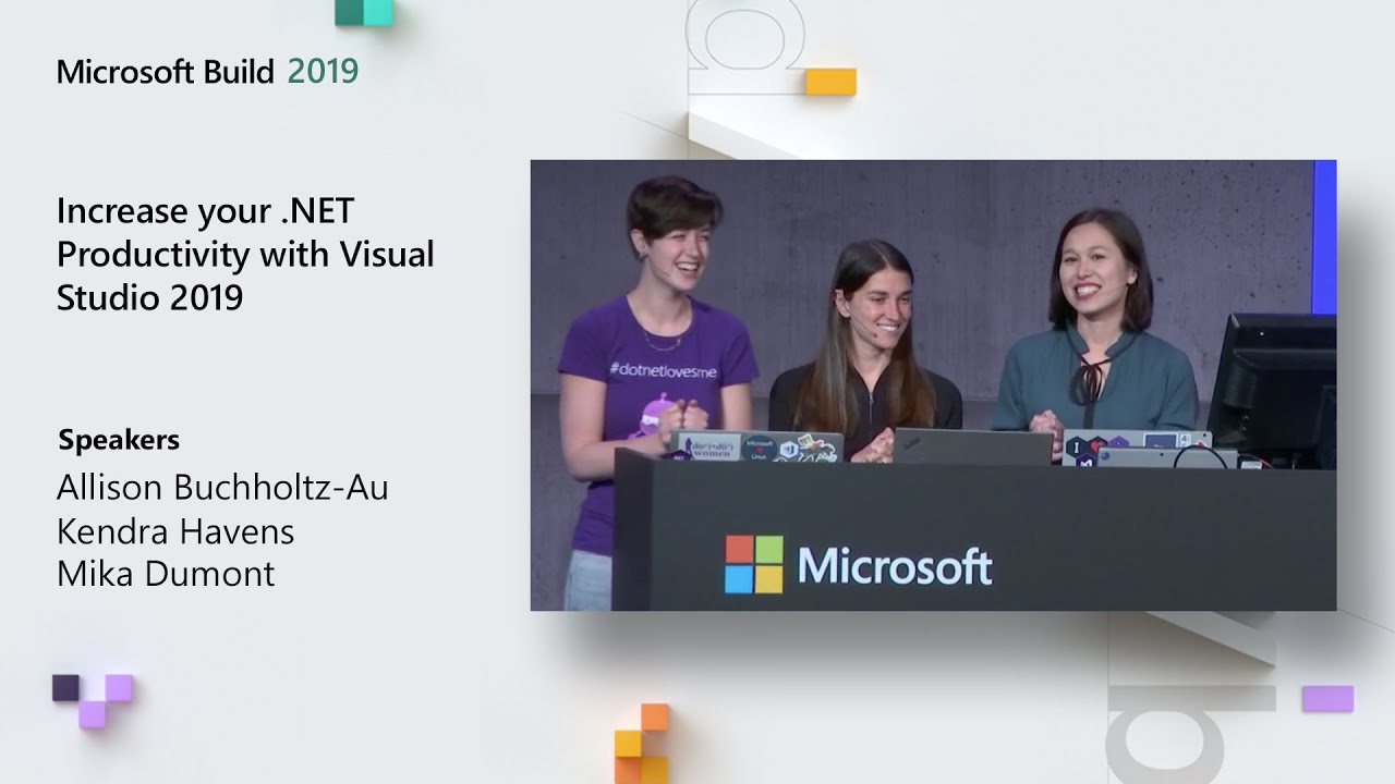Increase your .NET Productivity with Visual Studio 2019 - BRK3027 image