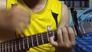 Hướng dẫn guitar solo fingerstyle Tôi Thấy Hoa Vàng Trên Cỏ Xanh by SMR P1