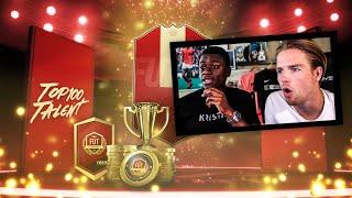 TEAM, REWARDS & TIPS van E-SPORTER AZ! | TOP100 TALENT #45 ARISTOTE | KOEN WEIJLAND FIFA19