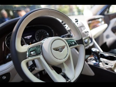 Bentley's $287,000 Bentayga First Edition is the world's fastest SUV