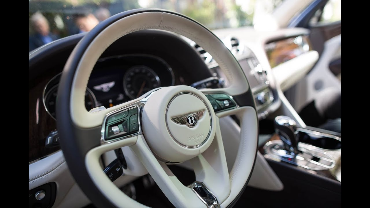 bentley s 287 000 bentayga first edition is the world s fastest suv youtube. Black Bedroom Furniture Sets. Home Design Ideas