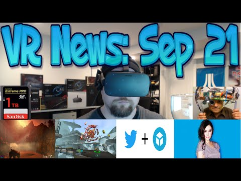 VR News: Sep 21 - Steam Removes Dev wanting to sue users - MS aquires VR VIP & More!