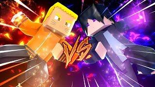 Minecraft: HERÓIS PVP - NARUTO vs SASUKE!