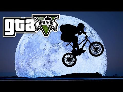 GTA 5 - FLYING BIKE LIKE E.T. - E31 | (Grand Theft Auto 5 Online PC Gameplay) Pungence