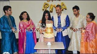 Unique Bollywood Style Birthday Party // Riya's 21st highlights