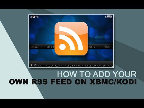 android how to add a rss fee