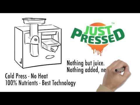 JustPressed - Cold Pressed Juice in India