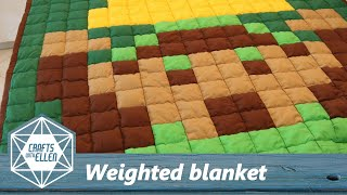 How to make a weighted blanket | Sewing project