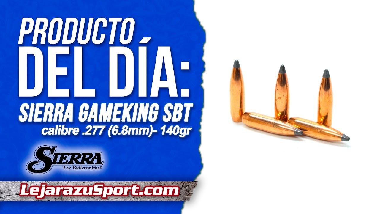 Puntas Sierra GameKing SBT calibre  277 (6 8 mm) - 140 grains