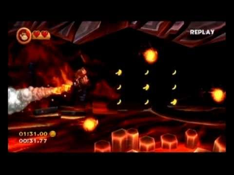 Donkey Kong Country Returns Wii - All 71 Levels - Time Attack Compilation (Shiny Gold Medal Runs)