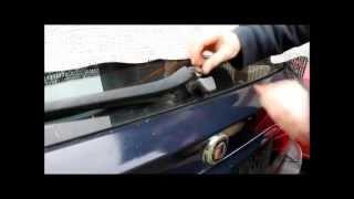 BMW 320i E46 Touring Austausch des Heckscheibenwischerblatts