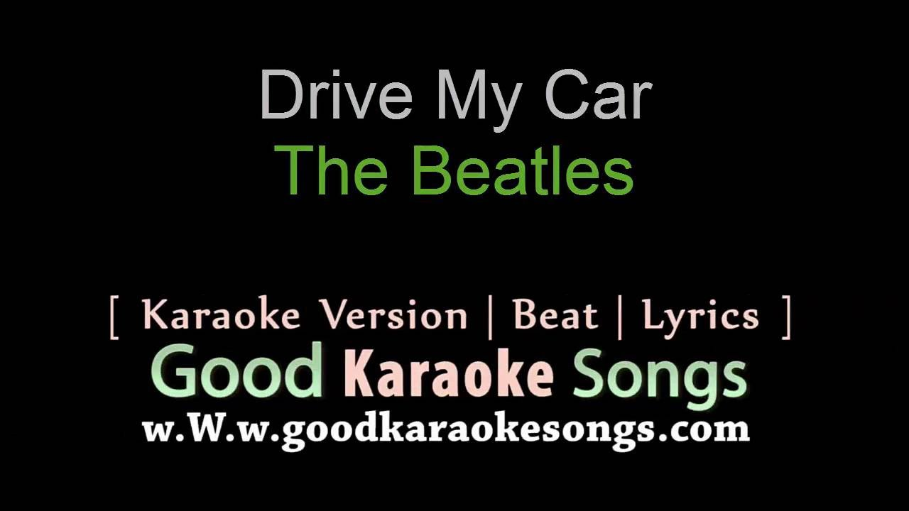 Beatles Drive My Car Lyrics Youtube